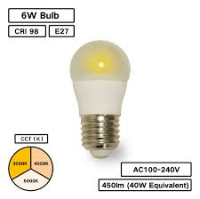 Bc Series A14 High Cri Remote Phosphor Led Bulb Pack 6 Pcs
