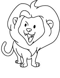 Coloriage B B Lion Dessin Imprimer Sur Coloriages Info