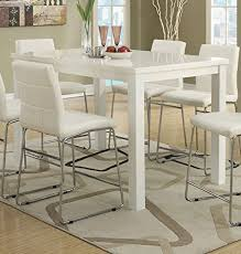 white counter height table. View Larger. High Table White Counter Height