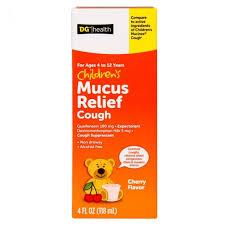 childrens mucus relief generic