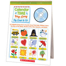Number Of The Week Flip Chart Calendar Time Sing Along Flip Chart And Cd