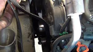 serpentine belt replacement on a 2002 2007 saturn vue v6