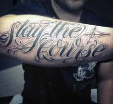 Quote Tattoos For Guys Enchanting 48 Quote Tattoos For Men Expression Of Words Written In Ink