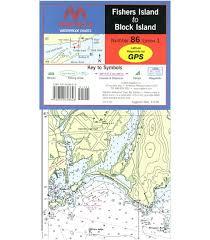 Maptech Fishers Island To Block Island Waterproof Chart