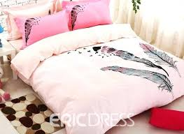feather bedding sets feather comforter set colorful feather bedding set king size queen sets full double pink bed feather comforter twin feather print
