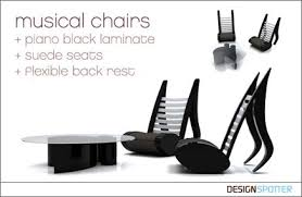 music inspired furniture. musical chairs furniture music inspired t