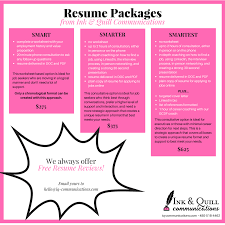 Phoenix Resume Writing — Ink & Quill Communications