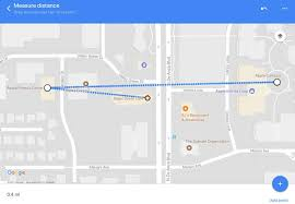 Google Maps App Update Brings Measure Distance Feature To