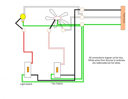 wiring a ceiling fan and multiple can lights on separate switches Hampton Bay Ceiling Fan 3 Speed Switch wiring a ceiling fan and multiple can lights on separate switches