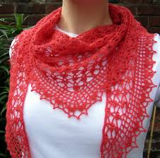 Free Crochet Patterns For Scarves Delectable Summer Sprigs Lace Scarf Make My Day Creative