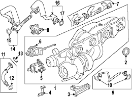 parts com® bmw 328i gt xdrive turbocharger components oem parts 2014 bmw 328i gt xdrive base l4 2 liter gas turbocharger components