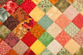 Quilt dictionary definition | quilt defined & A brightly colored quilt. Adamdwight.com