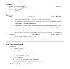 Resume Sections Extraordinary Objective Section Of Resume Lovely Resume Sections Resume Ideas