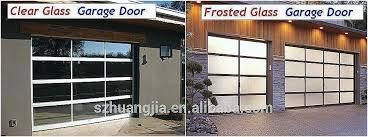 clear garage doors clear garage doors cost a comfortable modern frosted glass garage doors unique mid clear garage doors