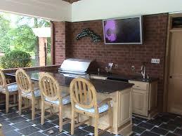 Outdoor Kitchen Countertops Kitchen Room Outdoor Kitchen Long Island Cool Features 2017
