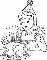 Birthday Party Coloring Pages Printables Coloring Pages For All