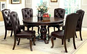 cute dining room sets for 6 8 alluring piece table set espresso finish huntington beach furniture in chairs of