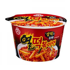 Tteokbokki Ottogi Hot Spicy Stew Tteokbokki Stir Fried Rice Cake Ramen
