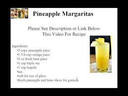 refreshing pineapple margarita l recipe