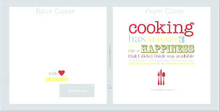 recipe book cover template s binder templates for flyers and brochures free printable templa