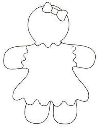 Gingerbread Girl Coloring Pages Google Search Gigrbeld Girl
