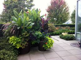 Small Picture large container gardens garden container design garden