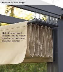 retractable pergola canopy. Diy Retractable Pergola Canopy   / Shade For A Pertaining To Arbor