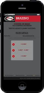 Harris Solder Chart The Harris Products Group Brazing Soldering Guide Mobile App