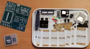 the nuts volts kit includes everything needed to build your own amigo including a pre programmed eeprom and a 2 gb sd card with starter files