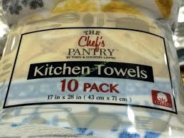 costco dish towels chefs pantry kitchen towel part costco kitchen towel set costco dish towels chef
