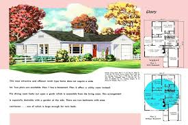 american home builders floor plans inspirational ranch homes plans for america in the 1950s of american