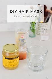 diy hair mask for dry damaged hair