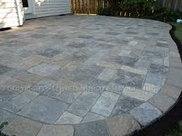 photo of patio paver stones patio decorating photos paver patio venetian stone pavers pavestone traditional patio