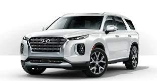 The Hyundai Palisade Beautifully Moves Eight People In High Tech Comfort Hyundai Suv Hyundai Classic Trucks