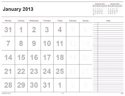 printable year calendar 2013 printable calendar 2013 home life weekly 12 month calendar 2013