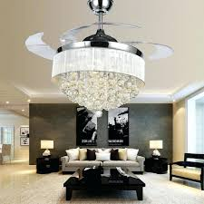 chandeliers chandelier ceiling fan combo in cute with crystal combination india