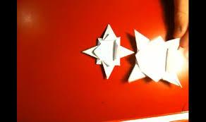 Origami Stern Falten Anleitung