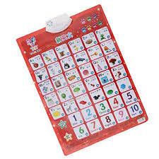 Music Education Wall Charts Magideal Bilingual Sound Wall Chart Electronic Phonetic Audio Chart Poster Baby Early Alphabet Letter Development Music Toys Learning Machine