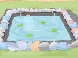 Pond Edges Design How To Make A Backyard Fish Pond 11 Steps With Pictures