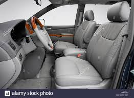 2008 Toyota Sienna XLE in Beige - Front seats Stock Photo, Royalty ...