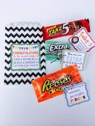baptism prinatables for candy instant lds gifts great to be eight treats primary s presents candybars