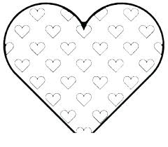 Cute Valentine Coloring Pages Koshigayainfo