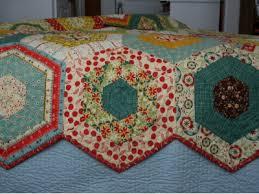 Simple Hexagons Make This Merry-Go-Round Quilt – Quilting Cubby & merry go round quilt hexagon blocks Adamdwight.com