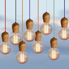 diy pendant lighting. DIY New Modern Wooden Edison Pendant Light Ceiling Fixture Chandeliers E27 For Dinning Room Kitchen Study Wood Lamp Diy Lighting D