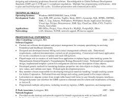 Network Support Engineer Resume Eliolera Com