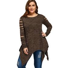 am i plus size plus size marled ripped sleeve han end 10 24 2020 12 57 am