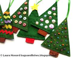Bugs And Fishes By Lupin How To Sew Easy Felt Christmas Tree Easy Christmas Crafts To Sew