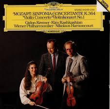 <b>Mozart</b>* - <b>Gidon Kremer</b> • Kim Kashkashian • Wiener Philharmoniker ...