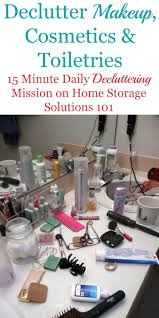 how to get rid of makeup cosmetics and toiletries from your home that are old