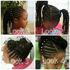Natural Hairstyles Ponytails Daily Hairstyles For Quick Little Black Girl Hairstyles Best
